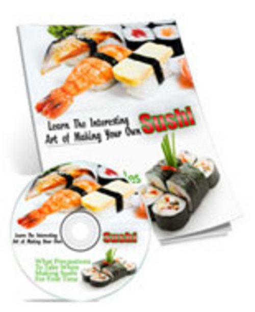 Product picture Learn To Make Sushi At Home