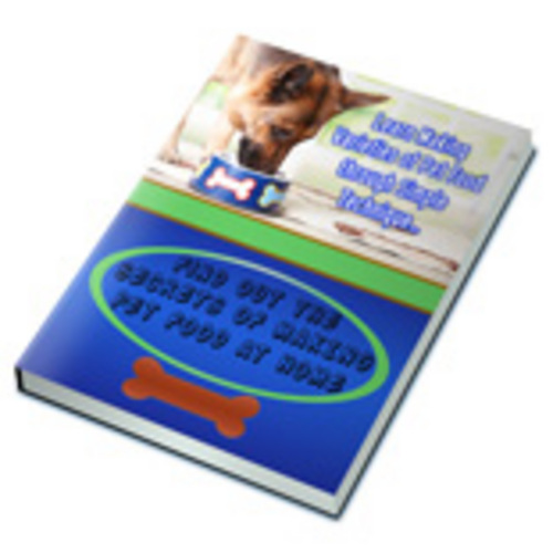 Product picture Secrets of Making Pet Food at Home