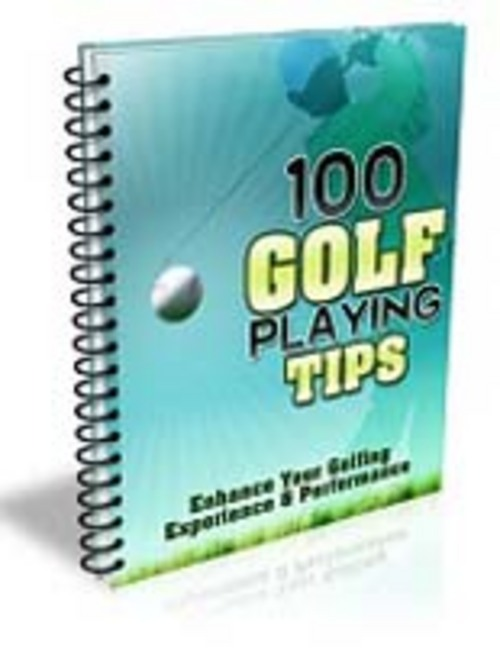 Product picture 100 Golf Playing Tips !